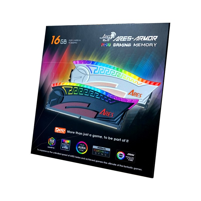 DATO PC Ares Armor 16GB KIT 2*8GB 3200MHZ DDR4 RGB