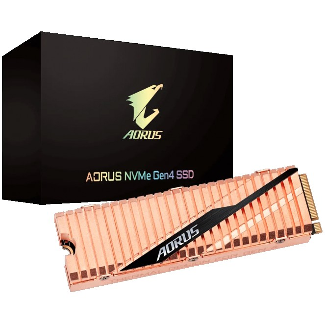 AORUS NVMe Gen 4 SSD 2TB up to 5000 MB/s