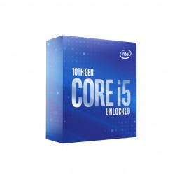 INTEL CORE i5-10600K UNLOCKED DESKTOP PROCESSOR 6 CORE/12 THREADS,UP TO 4.80 GHZ,LGA 1200