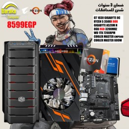 PC GAMING 3500X/GT 1030/A520
