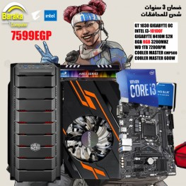 PC GAMING I3-10100F/GT 1030/H410