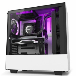 NZXT H510 I WHITE MID-TOWER PC GAMING CASE