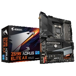 Z590 AORUS ELITE AX INTEL LGA 1200 MOTHERBOARD